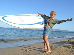 Αναστασία Γερολυμάτου Κεφαλονιά surfing