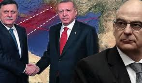 Τουρκία Λιβύη χάραξη ΑΟΖ
