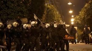 επιχείρηση αστυνομίας στο Κουκάκι