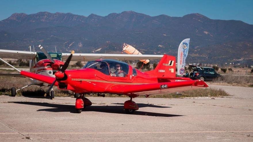 Πτώση αεροσκάφους στην Ηλεία